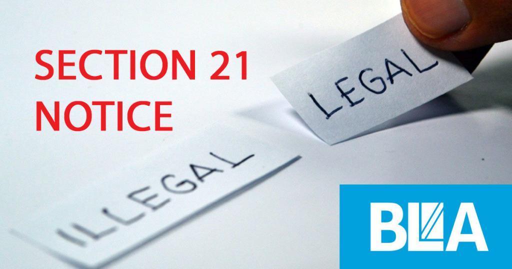 SECTION 21 CHECKLIST